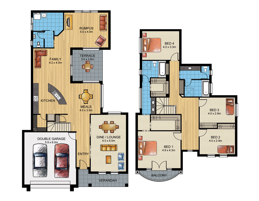 Aspen home design sterling homes home builders adelaide for Aspen homes floor plans
