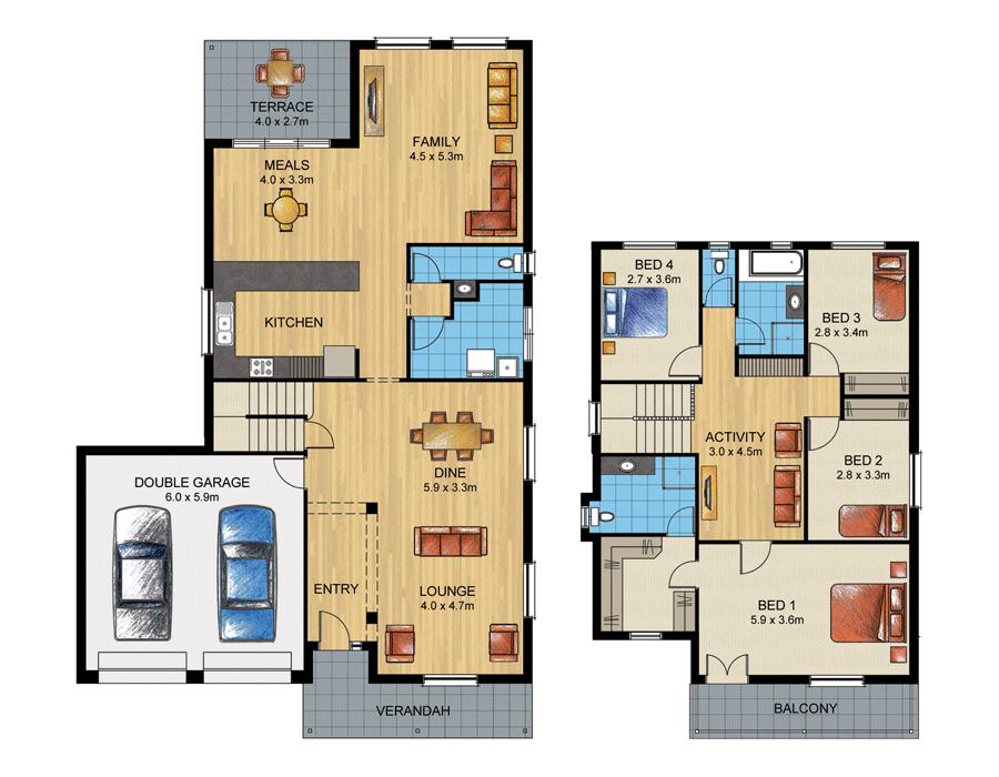 Bonython 303 home design sterling homes home builder for Home designs adelaide